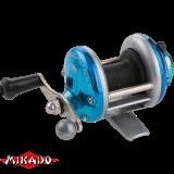 """Катушка - мультипликатор (зимняя) """"Mikado""""  MiniTroll MT 1000-03 BLUE (KD3801-03)"""