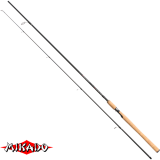 "Спининг штекерный ""Mikado"" ALMAZ MKM Spin 270 ( 10-30 гр.) Carbon (WAA180-270)"