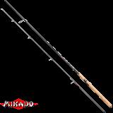 """Спининг штекерный """"Mikado"""" AMBERLITE MEDIUM SPIN 270 ( 5 - 25 гр.) Carbon (WAA298-270)"""