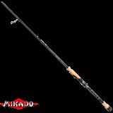 """WAA418-214 Спиннинг штекерный """"Mikado"""" CAZADOR 70/214 ( до 8гр.) 40T&4 AXIS, Fuji™ SiC ( 1-секционный ) (WAA418-214)"""