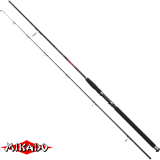 "Спининг штекер. ""Mikado""  DA VINCI M-PILK 210 ( 90-150 гр.) Carbon (WAA161-210-150)"