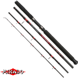 """Спининг штекерный """"Mikado""""  DA VINCI TRAVEL PILK 260 ( до 250 гр.) Carbon (WAA163-260)"""