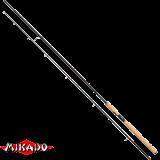 "Спининг штекерный ""Mikado"" DA VINCI PIKE 270 ( 5 - 25 гр.) Carbon (WAA146-270)"