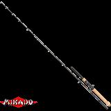 "Спининг штекерный ""Mikado""  ESSENTIAL POWER JERK 195 ( 30 - 80 гр.) 2секции Carbon (WAA081-195)"