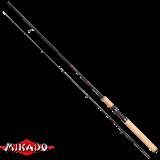 "Спининг штекерный ""Mikado"" ESSENTIAL FEELING 270 ( до 15 гр.) Carbon (WAA078-270)"