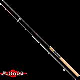 """Спининг штекерный """"Mikado"""" ESSENTIAL ZANDER 240 ( 10 - 40 гр.) Carbon (WAA080-240)"""