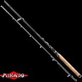 """Спининг штекерный """"Mikado"""" NIHONTO MEDIUM SPIN 270 ( 5 - 25 гр.) Carbon (WAA265-270)"""