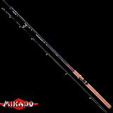 "Спининг штекерный ""Mikado"" SCR Zander Spin 240 ( 10 - 30 гр.) Carbon (WA887-240)"