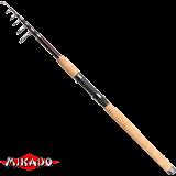 """Спининг телескоп. """"Mikado"""" TSUBAME TELE SPIN 240 ( 5 - 25 гр.) Carbon (WAA209-240)"""
