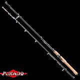 """Спининг штекерный """"Mikado"""" X - PLODE MEDIUM Spin 270 ( 7 - 25 гр.) Carbon (WAA239-270)"""