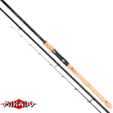 "Удилище штекерн.""Mikado"" ALMAZ HEAVY Feeder 390 ( 40-160 гр.) { 4 хлыстика } Carbon (WAA188-390)"