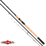 "Удилище штекерн.""Mikado"" BLACK STONE MEDIUM Feeder 380 (до 120гр.) { 3 хлыстика } 3-х секц., 370гр. (WAA513-380)"