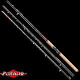 "Удилище штекерн.""Mikado"" DA VINCI Feeder 390 ( до 140 гр.) { 4 хлыстика } Carbon (WAA154-390)"