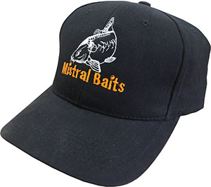 Бейсболка MISTRAL BAITS Caps Black ONE Size CAP
