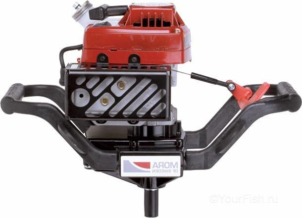 Двигатель-мотобур Mora 2-х тактный