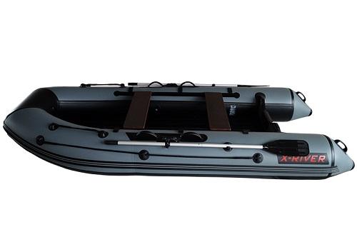 Лодка НДНД X-River AGENT 340 Серо-черная
