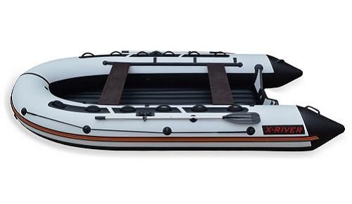 Лодка НДНД X-River GRACE-WIND 420 Серо-черная