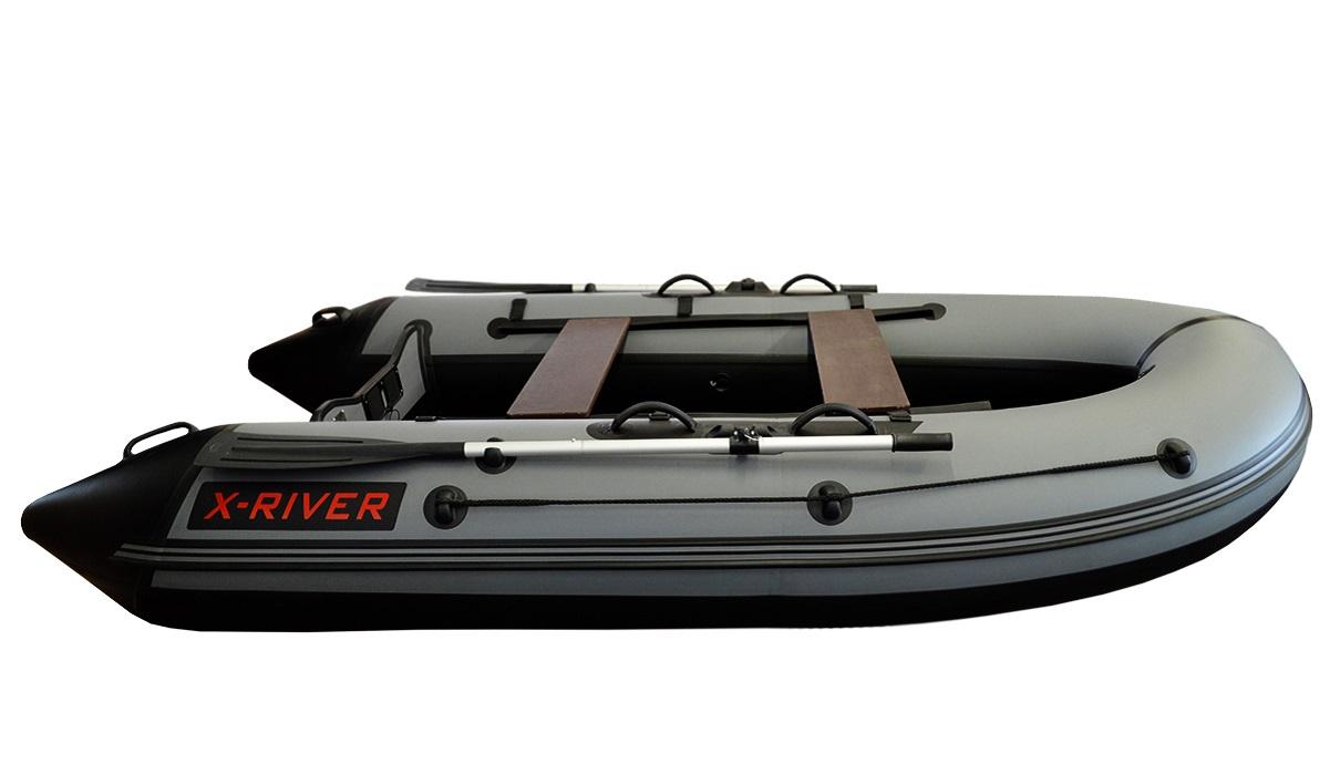 Лодка НДНД X-River GRACE 320 Серо-черная