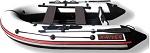Лодка НДНД X-River GRACE 340 Бело-черная