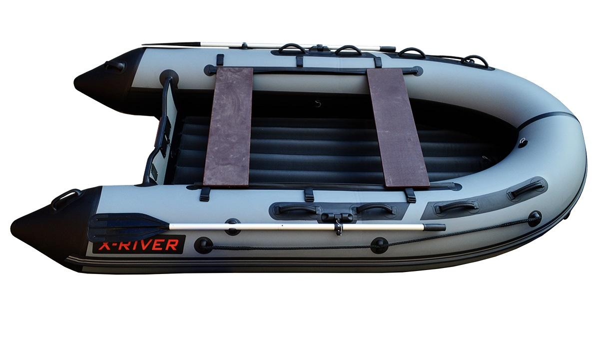 Лодка НДНД X-River GRACE 340 Серо-черная