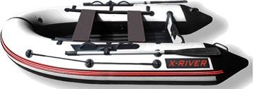 Лодка НДНД X-River GRACE 360 Бело-черная