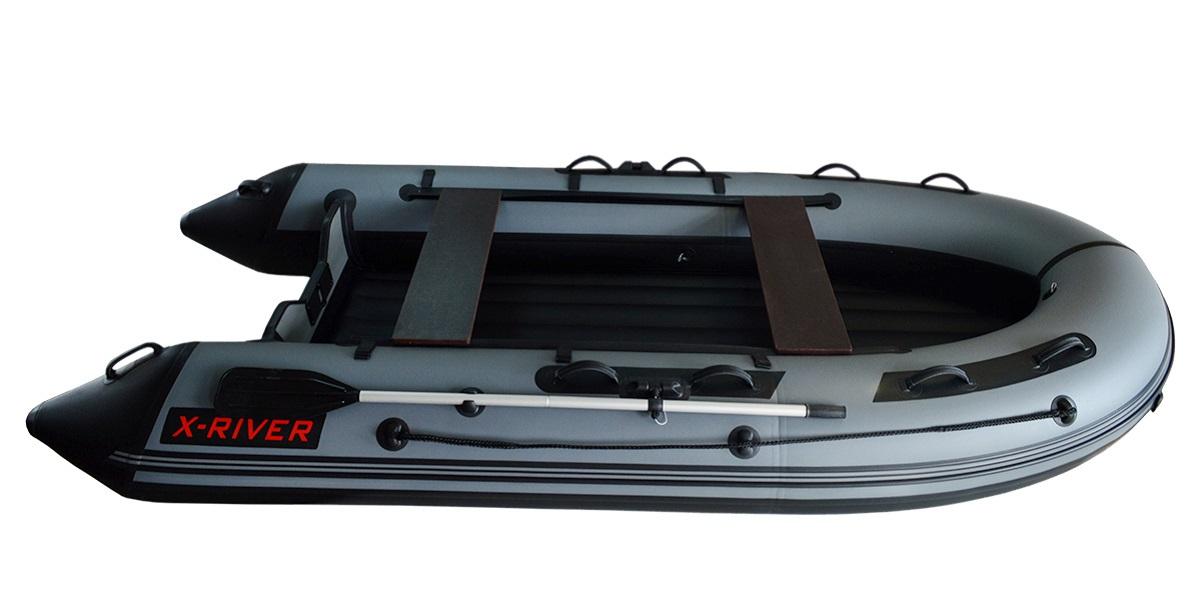 Лодка НДНД X-River GRACE 380 Серо-черная