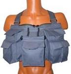 Нагрудная сумка для забродной рыбалки и нахлыста