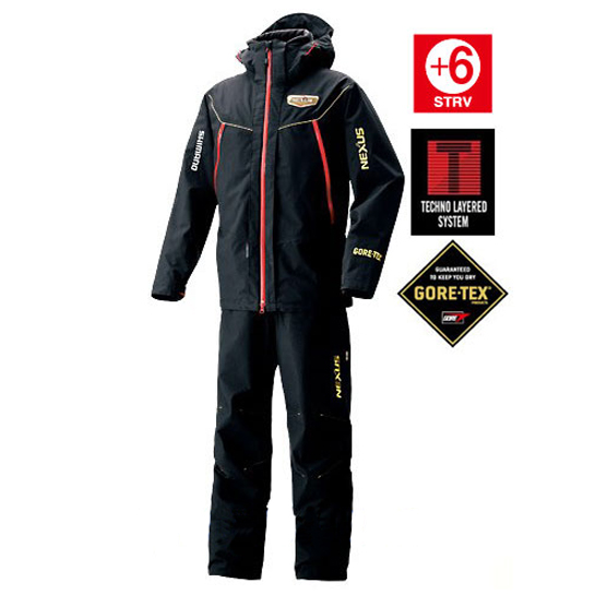 Костюм NEXUS Gore-Tex RT114LBK чёрн. /5L(XXXL)