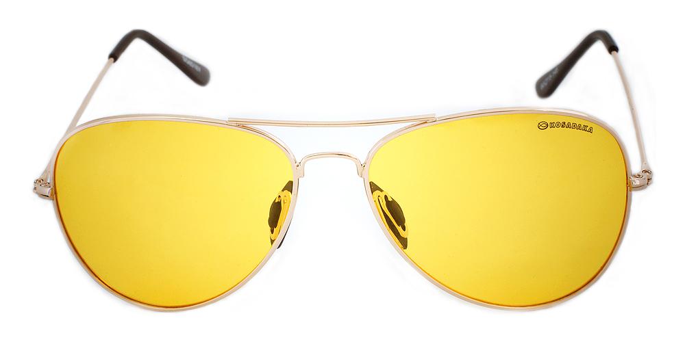 Очки поляризационные металл. (желтые линзы) 8516Y (KOSADAKA)