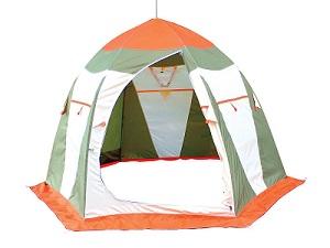 """Палатка для зимней рыбалки Митек \""""Нельма 3\"""" (2-3 местная)"""