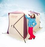 Палатка трёхслойная Снегирь 2у x 2