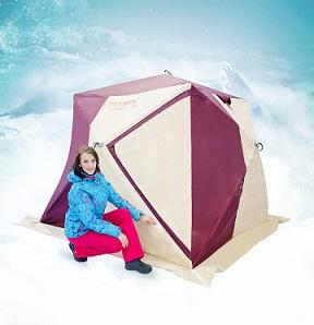 Палатка трёхслойная Снегирь 4у