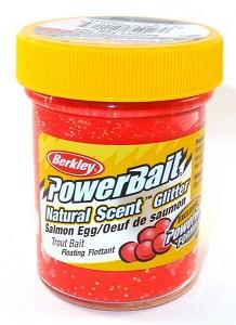 Паста Berkley 50gr BGTSSER2 (6/12 шт.) Salmon Egg-Red Natural (красная икра, блестки) (USA) 1203184
