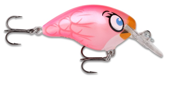 Коллекционный воблер Rapala Angry Birds Stella pink