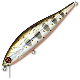 Воблер Pontoon 21 Bet-A-Minnow 102SP-SR вес 14,9 г цвет 050 Crash HG Silver Amago