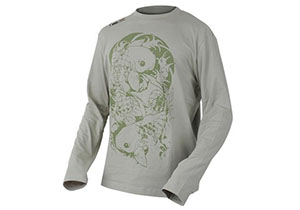 Футболка PROLOGIC  с дл.руковом Twin Carp Tattoo Tee L Stone 46850
