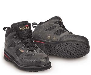 Ботинки Rapala ProWear вейдерсные замшевые, черные с рифлёной подошвой р. 41