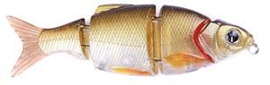 Воблер Izumi Shad Alive 4 section white fish 80 (SLOW SINKING) №8
