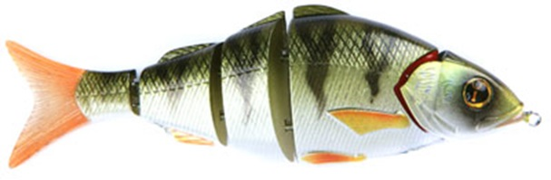Воблер Izumi Shad Alive 5 section white fish 105 (FLOATING) №14