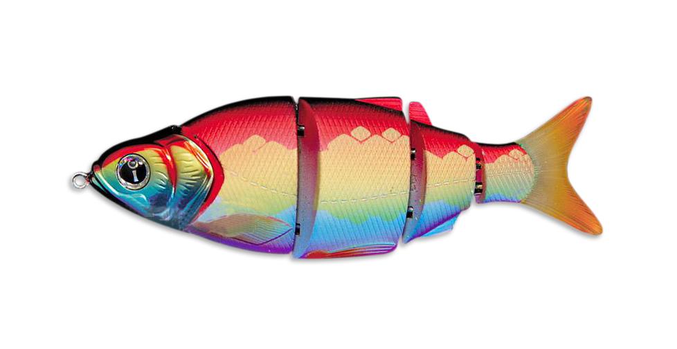 Воблер Izumi Shad Alive 4 section white fish 80 (FAST SINKING) №29