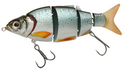 Воблер Izumi Shad Alive 5 section white fish 105 (FAST SINKING) №2
