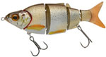 Воблер Izumi Shad Alive 5 section white fish 105 (FLOATING) №3