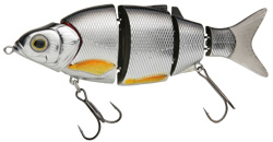 Воблер Izumi Shad Alive 5 section white fish 105 (FLOATING) №9