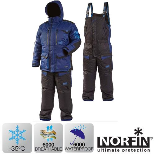 Kостюм зимний Norfin DISCOVERY LE BLUE 06 р.XXXL