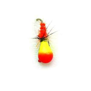 Мормышка вольфрамовая Lucky John НИМФА-Муха с петел. 040/37
