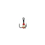 Крючок-тройник для приманок Lucky John с каплей цвет. разм.008/RFR