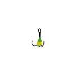 Крючок-тройник для приманок Lucky John с каплей цвет. разм.012/GYF