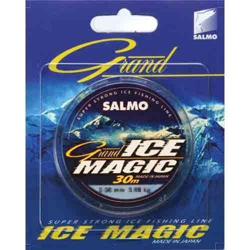 Леска монофильная зимняя Salmo GRAND ICE MAGIC 030/0.06