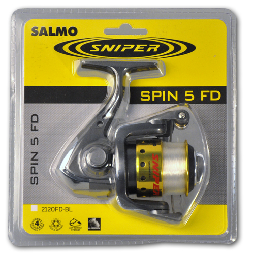 Катушка безынерционная Salmo Sniper SPIN 5 20FD блистер