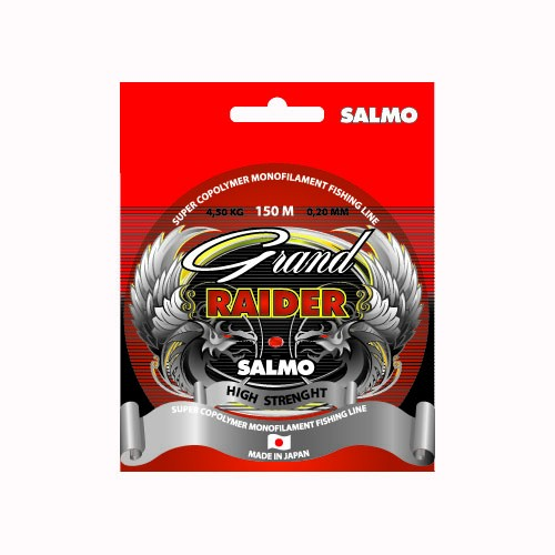 Леска монофильная Salmo Grand RAIDER 150/016